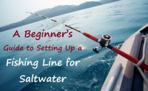 how to set up a fishing line for saltwater