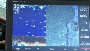 Fish finder screen