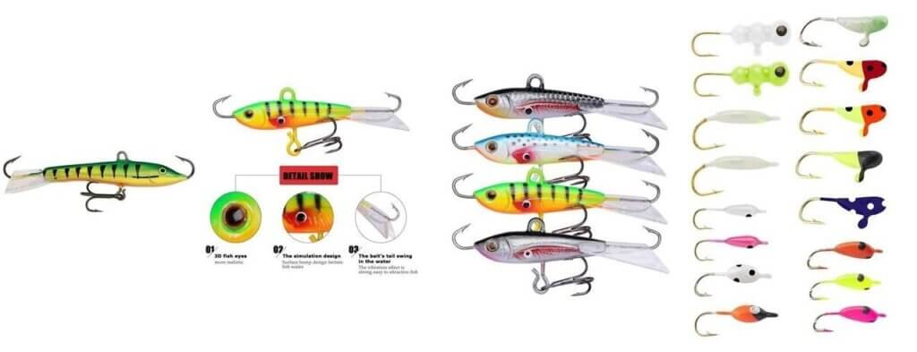 Types of Lures and Baits